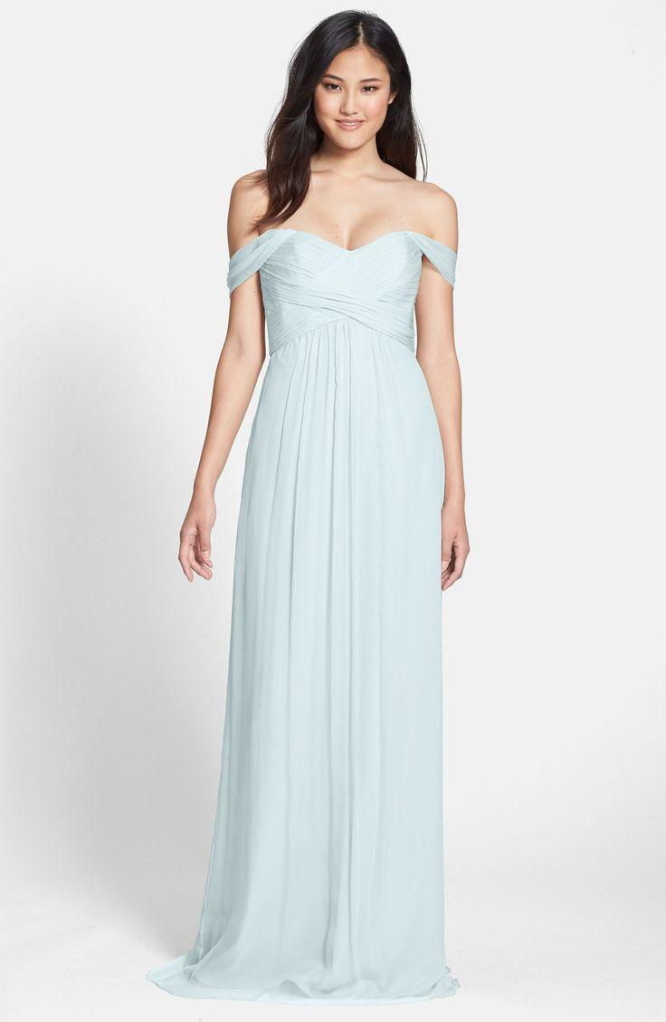 The 120 best images about light blue bridesmaid dresses on for Pale blue dress for wedding