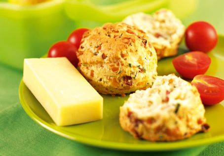 Mini Cheese and Herb Scones