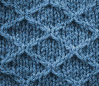 Diamond Grid Knitting Pattern : Diamond Grid - Stitch Sample Stitchionary Pinterest Stitches, Diamonds ...