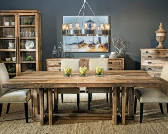 Rustic Dining Room Tables 31 best dining room table images on pinterest | dining room tables