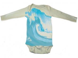 Wave Organic Onesie