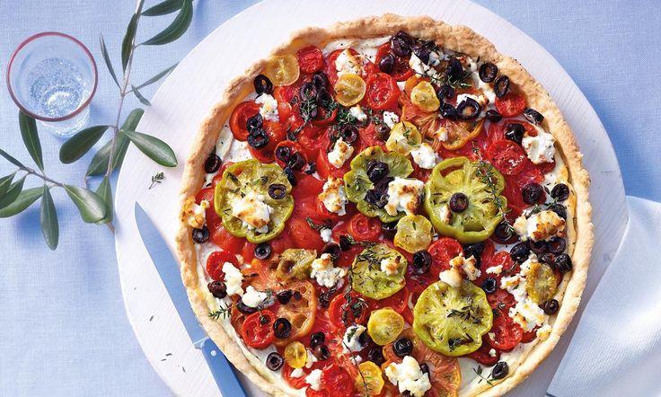 Tomaten-Tarte Rezept | Dr.Oetker