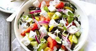 Afbeeldingsresultaat voor griekse boerensalade
