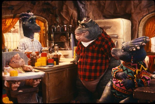 Dinosaurs TV Show | For a family show, it took on some pretty eye-opening topics, such as ...