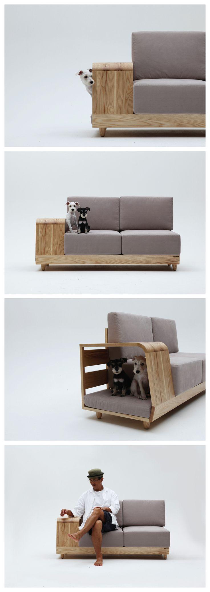 """The Dog House Sofa"" by Korean designer Seungji Mun"