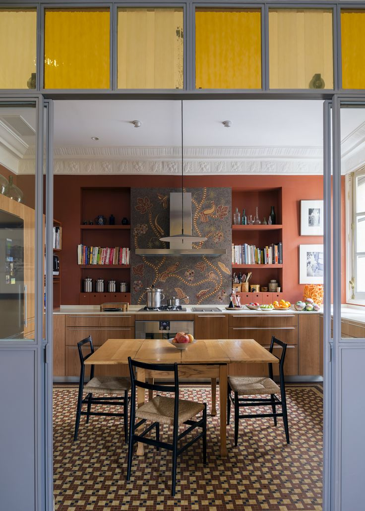 Reinterpretation of the old country kitchen in madrid by bulthaup odonnell