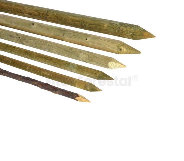 M s de 25 ideas incre bles sobre estacas de madera en - Postes de madera tratada ...