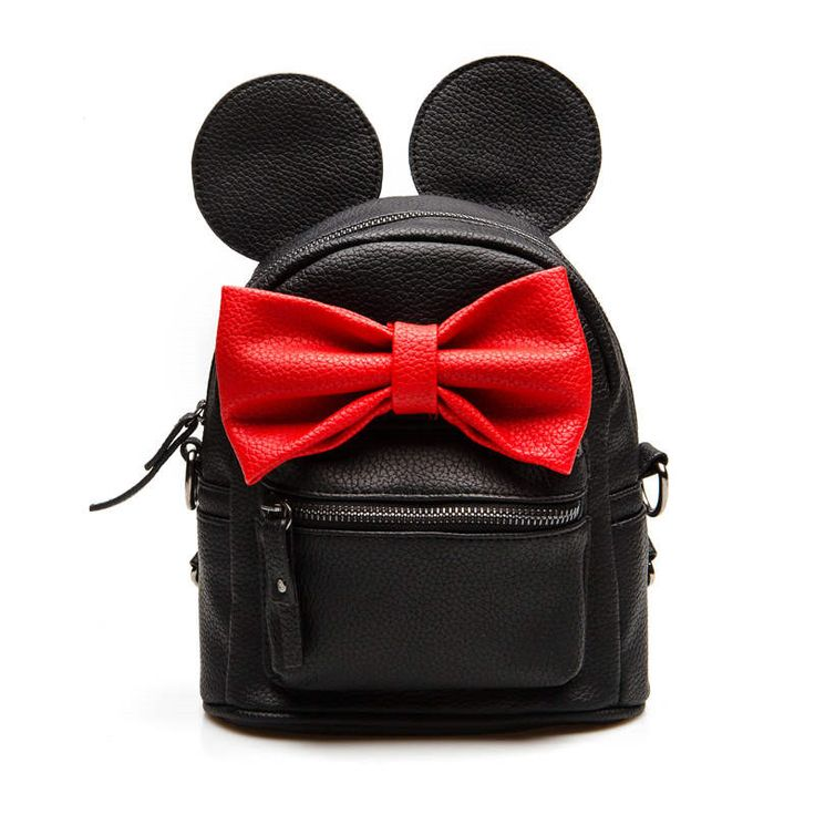 New mini backpack Mochila feminina quality pu leather women kanken backpack Korean version of Mickey ears bow bags for teenagers