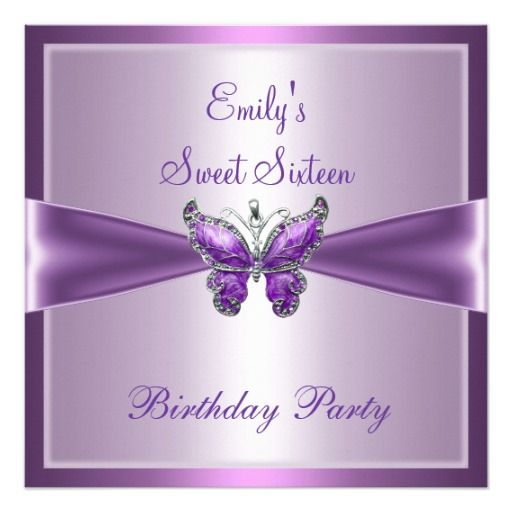 35 Best Images About 16th Birthday Ideas On Pinterest: 404 Best Images About Purple 16th Birthday Party