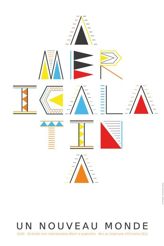 """Galerie / 20 sur 20, """"America Latina : Un nouveau monde"""" / étapes: design & culture visuelle"""