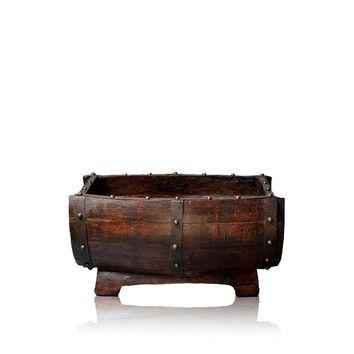 Best 25 small wooden barrels ideas on pinterest country for Wooden barrel planter ideas