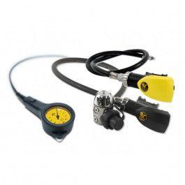 Poseidon Single Kit Xstream Deep MK3 Regulator Set - Regulator-sett - Regulatorer - Dykking