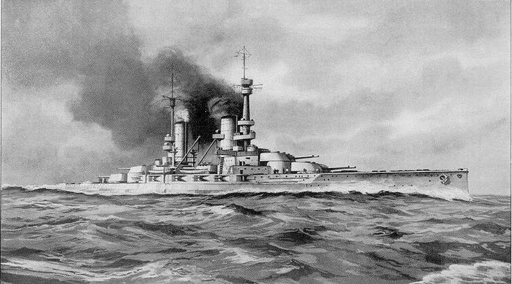 Kaiserliche Marine König-class battleship 'Grosser Kurfürst' (Großer Kurfürst)