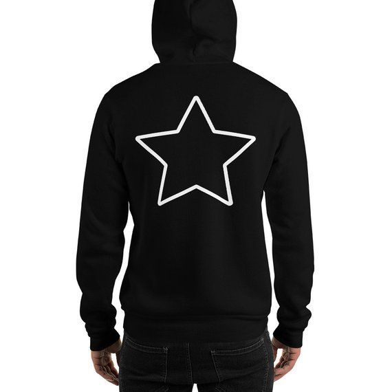 Star GOTHIC CLOTHING Hoodie Gothic Halloween Occult Witchcraft Gift for Her Long Distance Relationship Boyfriend Gift Birthday Gift