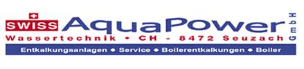 SWISS AquaPower GmbH, Wassertechnik, Seuzach, Kalk, Entkalkungsanlage, Enthärungsanlagen, Boilerservice
