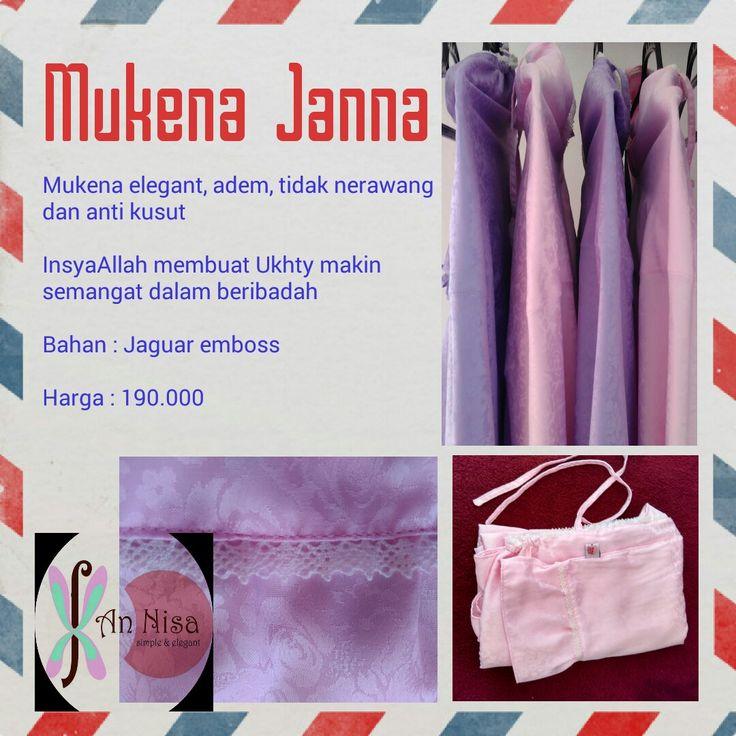 Assalamu'alaykum Ukhty New produk by #an_nisa_handmade  Mukena Janna Bahan : jaguar emboss Ukuran : standar Tipe : atasan dan bawahan berenda kecil Tali di jahit rapi, terdapat kerutan diatad kepala, keliling muka diberi renda Kelengkapan : tas Warna : putih, pink muda, ungu muda Harga : 190.000  #mukena #mukenaemboss #mukenamurah #muslimah #fashion #hijab #jilbab #mukenajaguarsilk #mukenasutra