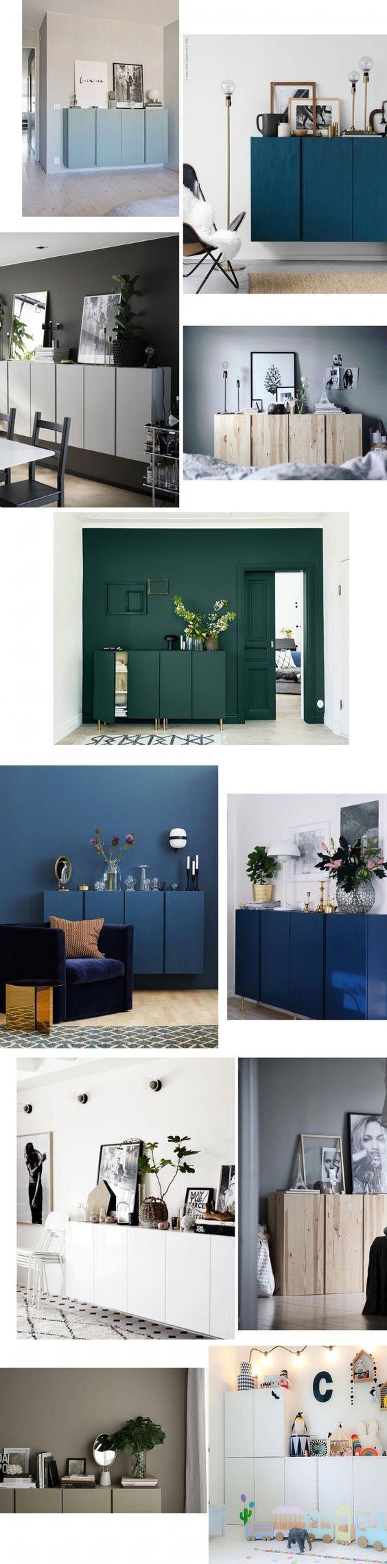 IKEA IVAR Schrnke Frs Wohnzimmer Mit Farbe Sehen Sie So Edel Aus