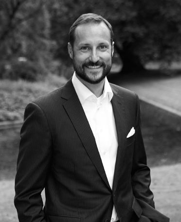 His Royal Highness Crown Prince Haakon of Norway. Prince Haakon, born on 20 July 1973 Son of King Harald V and Queen Sonja. Heir to the throne. Married Mette-Marit Tjessem Høiby in Oslo Cathedral on  25 August 2001. Children: Princess Ingrid Alexandra and Prince Sverre Magnus.