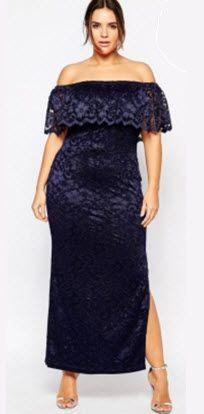 rochii elegante masuri mari lungi din dantela