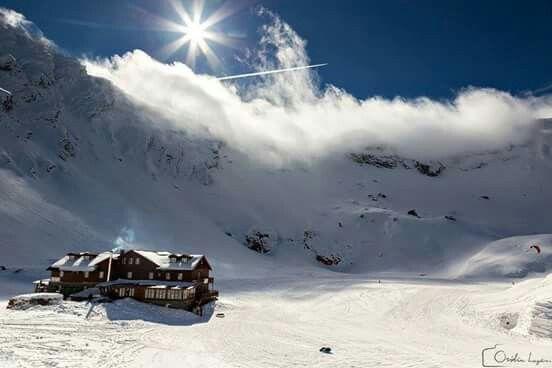 Carphatian mountains in winter