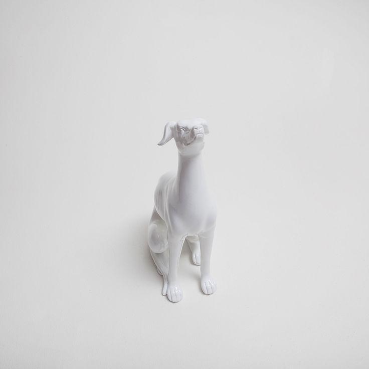 Immagine 3 del prodotto Figura decorativa levriero ceramica