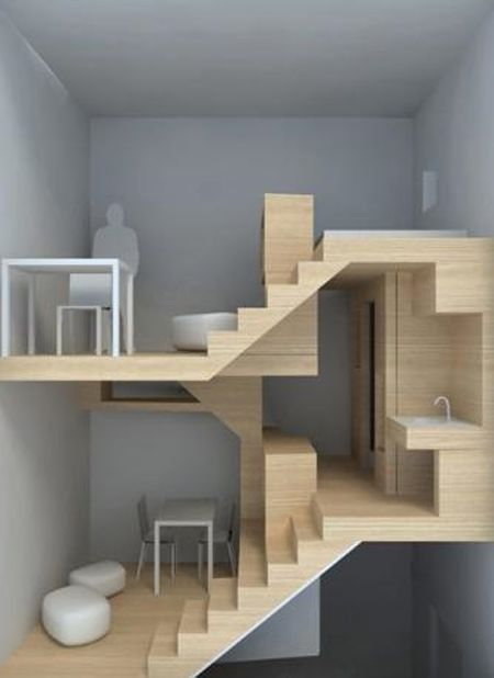 203 best SMALL SPACES images on Pinterest | Small spaces, Homes and ...