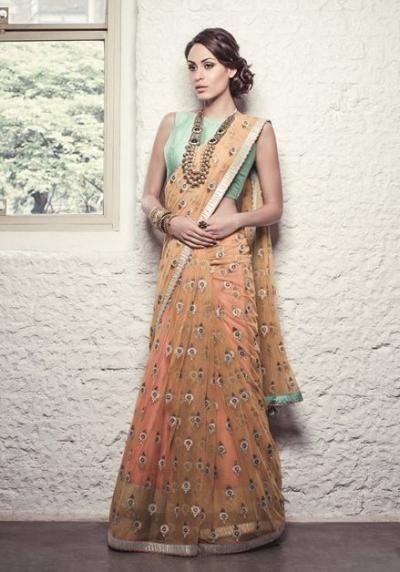 Browse Peach Indian Wedding Ideas & Themes