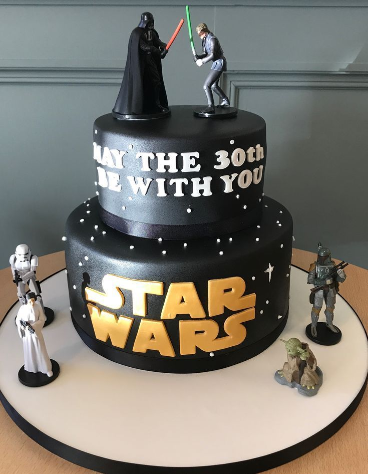 Cool Star Wars Cake Toppers Star Wars Gifts 2019 Star Wars Cake Birthday Cards Printable Giouspongecafe Filternl