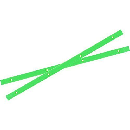 Yocaher Neon Green Skateboard Rails