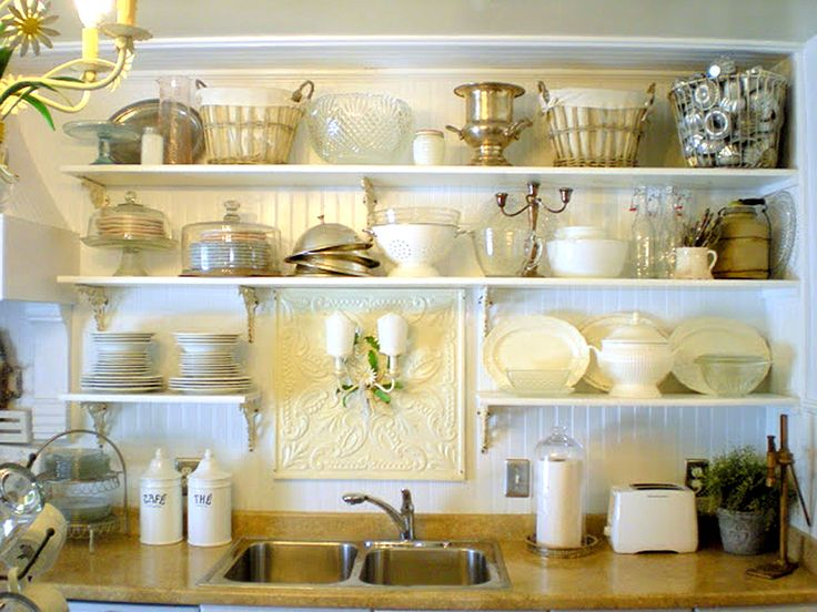 Open shelving is an easy way to maximize kitchen storage. Plus it looks good! Learn more: