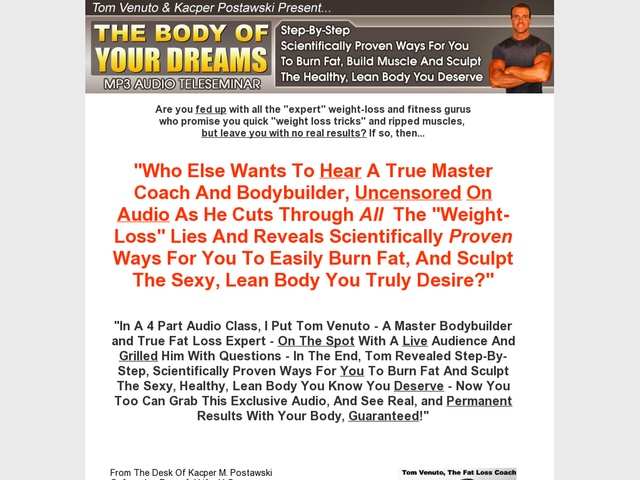 http://www.diets-for-quick-weight-loss.net/burn-the-fat-feed-the-muscle-review.html Burn The Fat report.  Burn The Fat Mp3. Review  Get Full Review : http://scamereviews.typepad.com/blog/2013/04/burn-the-fat-mp3-get-for-free.html