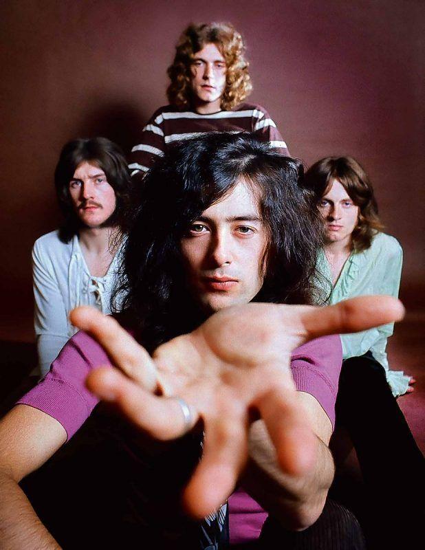 Os 50 Anos Do Led Zeppelin Com Imagens Zepelim