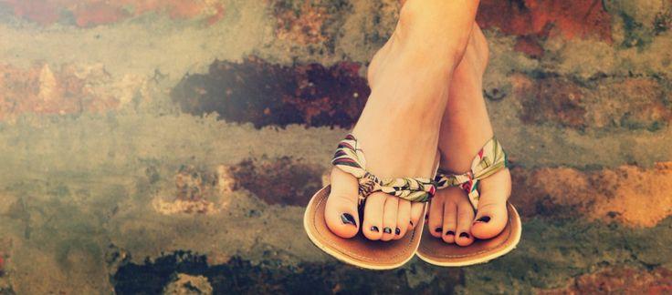 Schöne Füße: Mit diesen 7 Tipps macht ihr eure Füße sandalentauglich! #pintowingofeminin