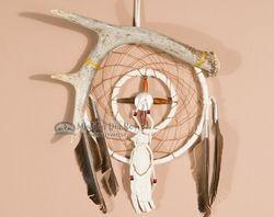 "Navajo Medicine Wheel Dream Catcher 6""  (dc6-99)"