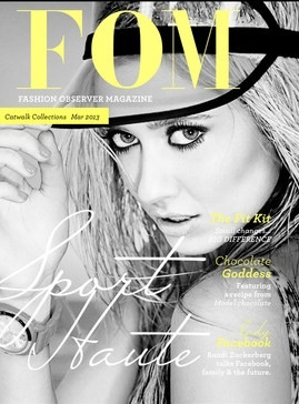 All new Fashion Observer Magazine [FOM], is not just a magazine - the publication is an online platform offering video, written, editorial and advertorial content in the one place. Read more: http://influencing.com.au/p/43150