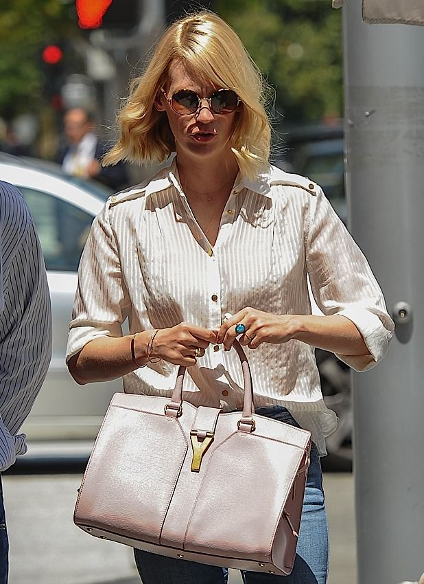 January Jones YSL | HOLLYWOOD GREATS Bags | Pinterest | January ...