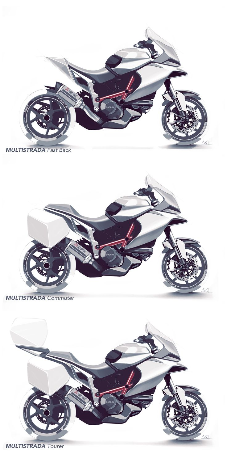 Motorcycle Sketches Vol.I on Behance