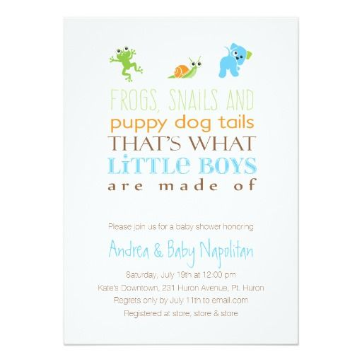 thatu0027s what little boys are made of baby shower card