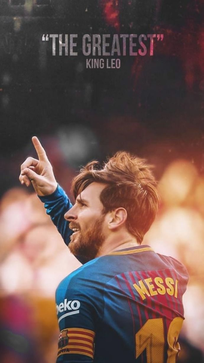 Messi King Wallpaper 2020