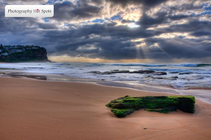 Bungan Beach is a fantastic photography location on the Sydney's Northern Beaches. This location has it all. Great rock-formations, a Surf Club and a wonderful beach. A very popular photography destination! =) #bunganbeach #northernbeaches #photographylocations #landscapephotography