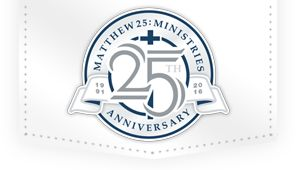 Volunteering - Matthew 25 Ministries Logo For Matthew 25 Ministries