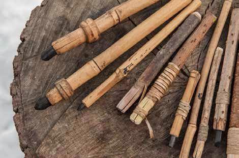 How to make charcoal holder, organic artist, nick neddo ...