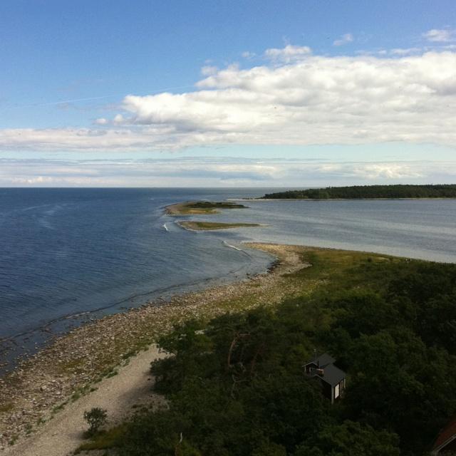 As far north you can go on Öland, Sweden.