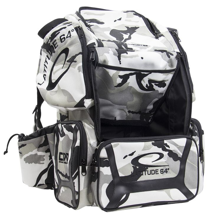 Latitude 64 DG Luxury E3 Arctic Camo/ Backpack Disc Golf Bag