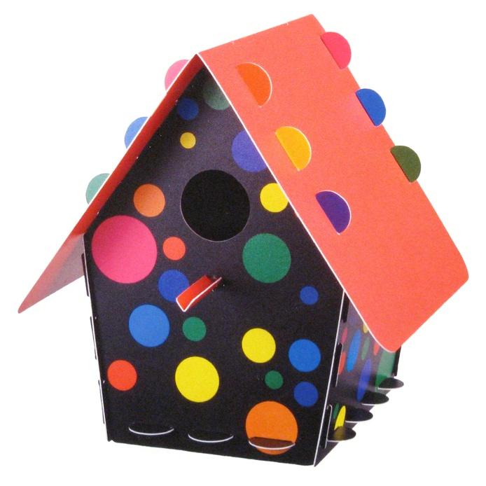 Bird House: Classic Dots $11