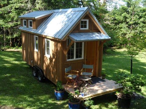 Ynez tiny house on wheels by oregon cottage company photo for Small houses oregon