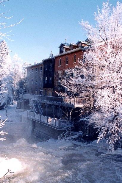 Wakefield, Quebec  Pas loin de chez nous ça...