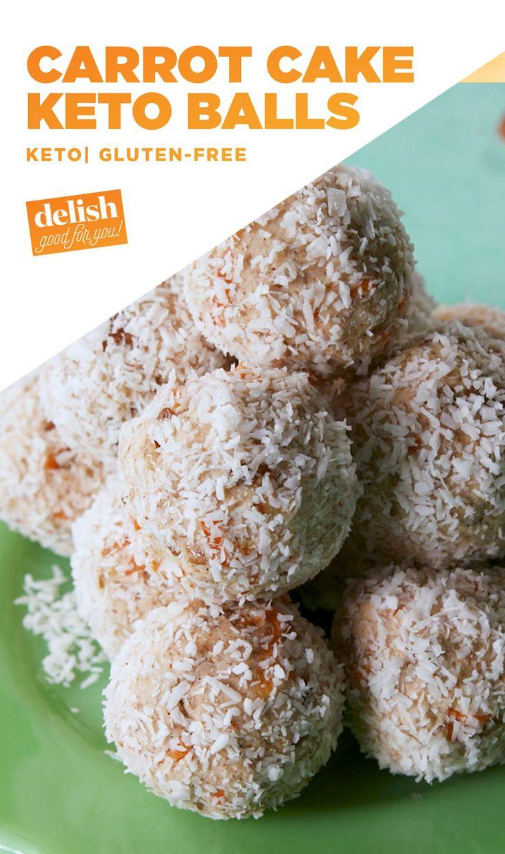 Keto Carrot Cake Balls Are The Perfect Keto Snack Delish