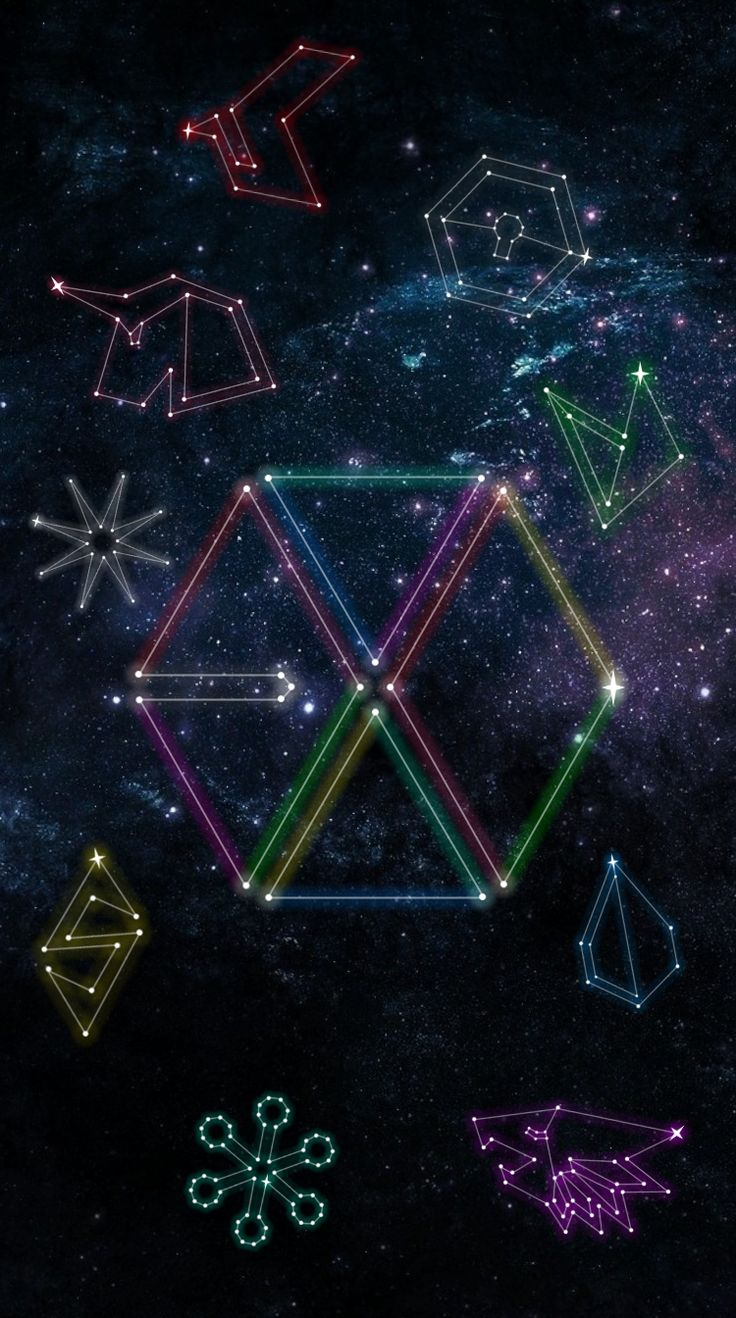 EXO CONSTELLATION i7 WALLPAPER (© exoslotto) •do not edit• insta : ohsorryprue / spam - pruesorryoh hi feel free to use my creation and give me feedback on how it is :) if you want your personal wallpaper , please ask me if you want but i am still practicing on my creativity because i suck at being creative haha . please go message me here or on instagram if you will !