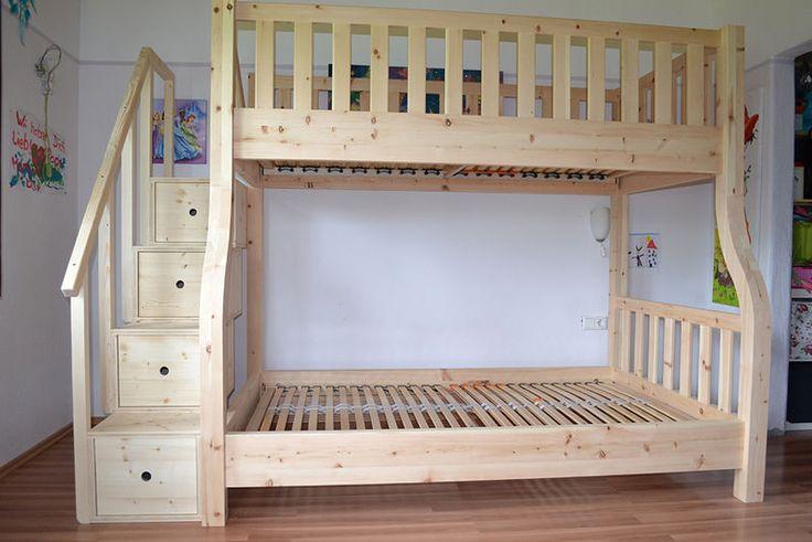 zirbenholzhochbett etagenbett modell lisa kids stuff. Black Bedroom Furniture Sets. Home Design Ideas